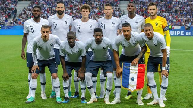 Tim sepak bola FRANCE 2019