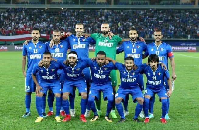 KUWAIT football team 2019