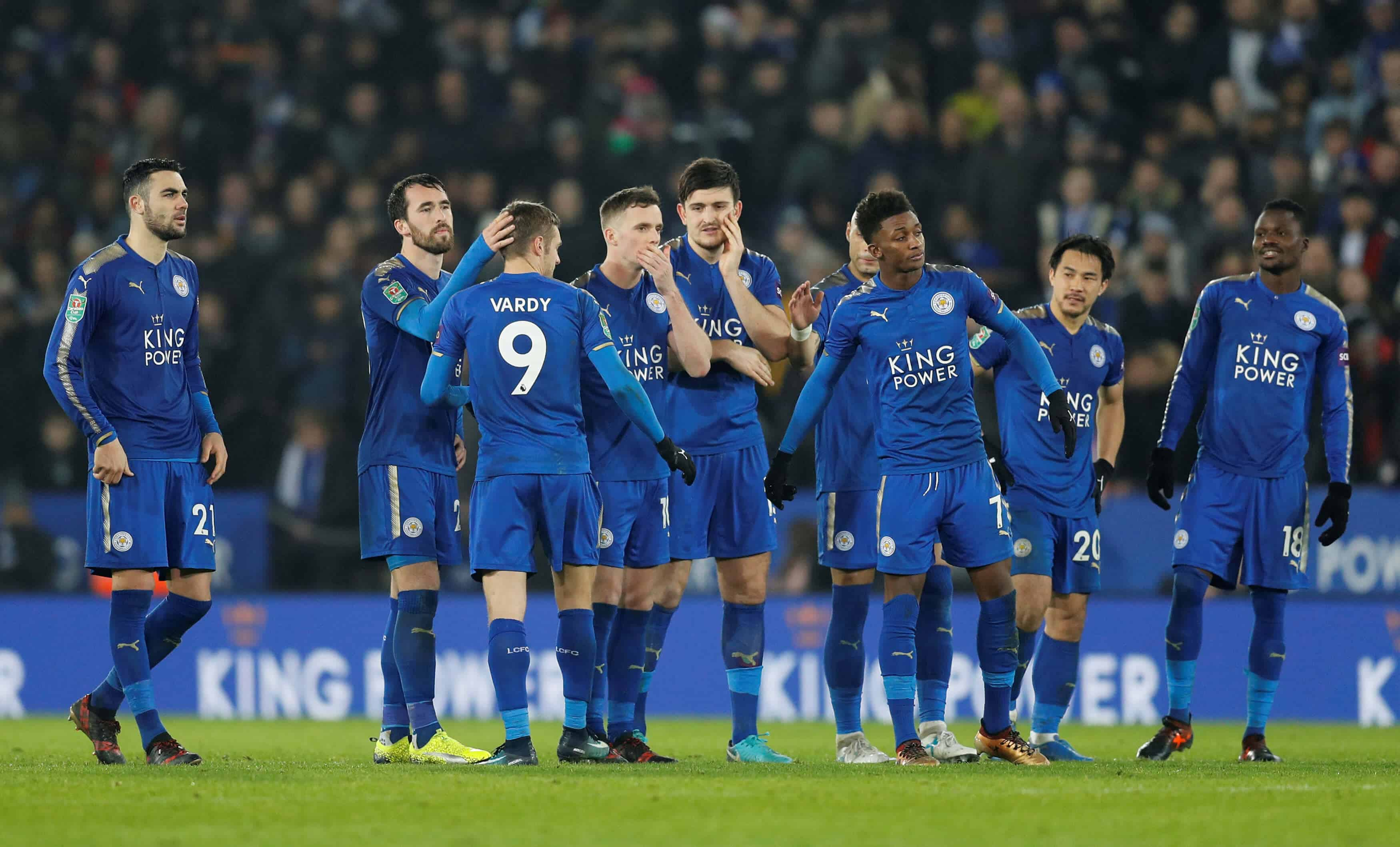 LEICESTER CITY football team 2019 - Copy