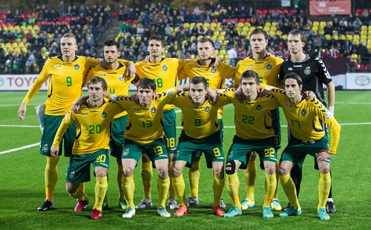 tim sepak bola LITHUANIA 2019