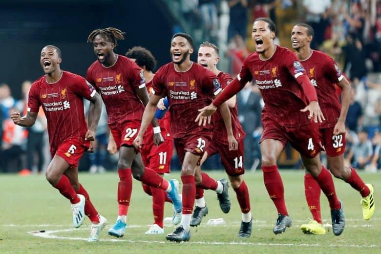 Tim sepak bola LIVERPOOL 2019
