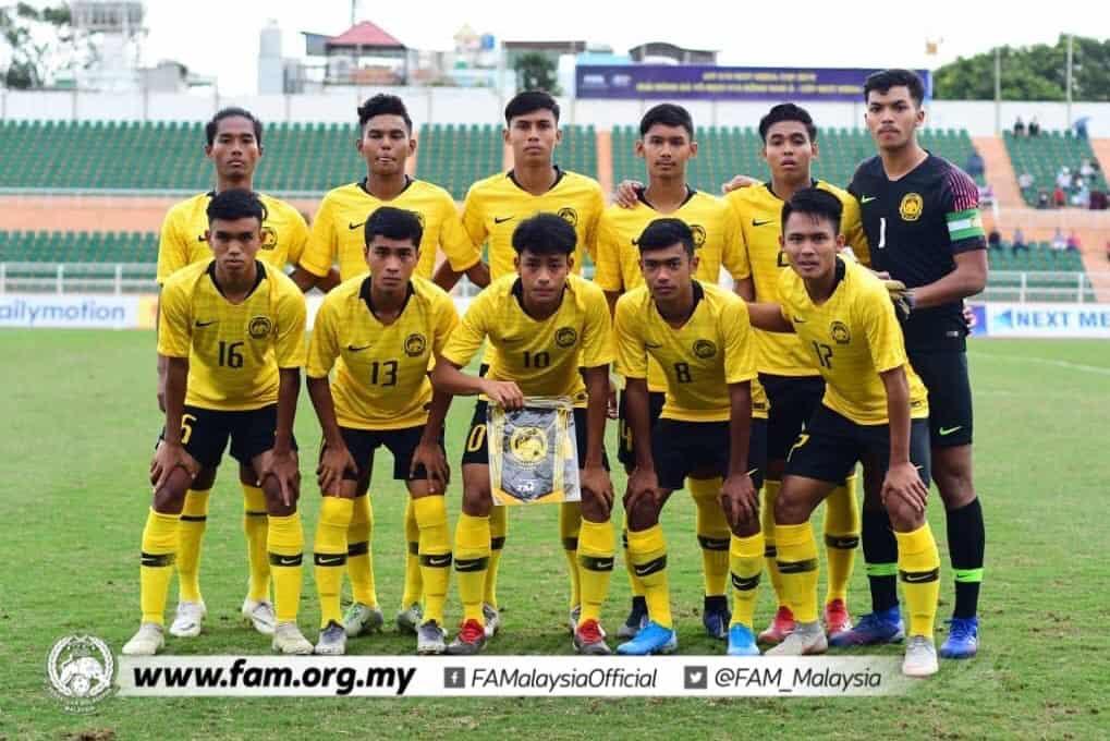 MALAYSIA football team 2019