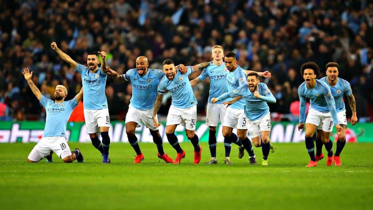 MANCHESTER CITY tim sepak bola 2019