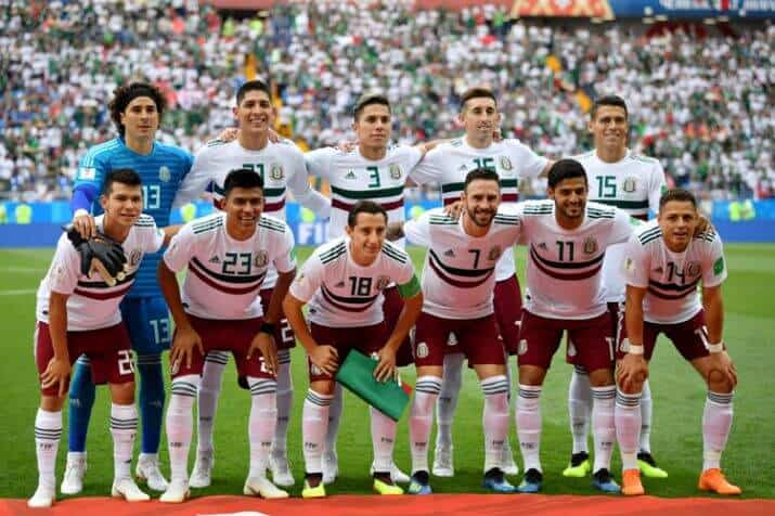 MEXICO national football team 2019