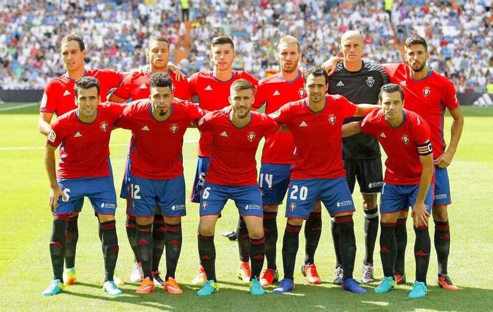 OSASUNA football team 2019