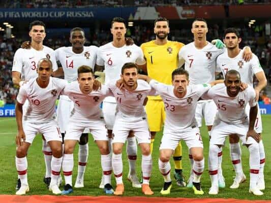 PORTUGAL football team 2019