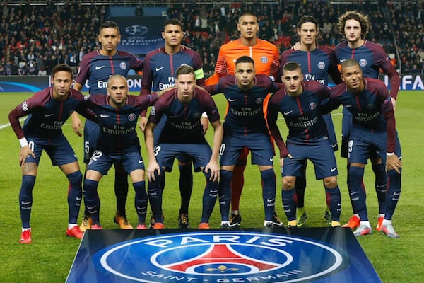 PSG football team 2019
