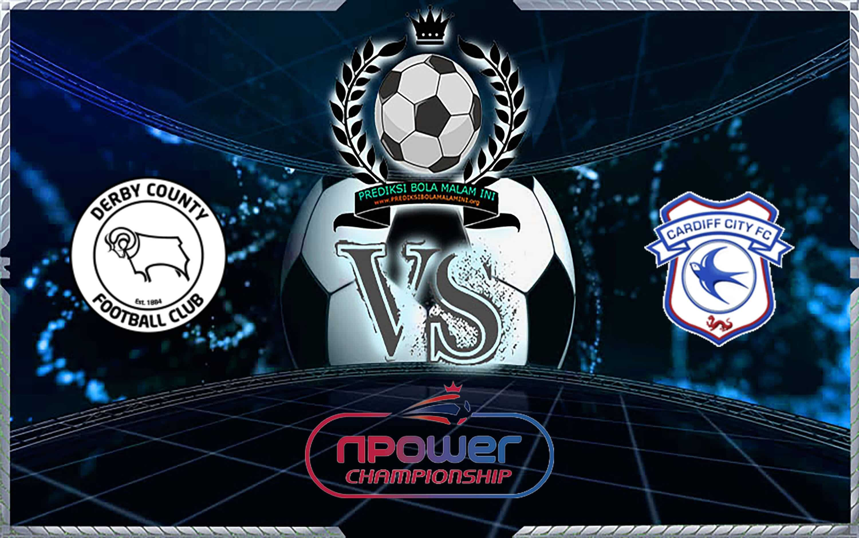 Predikor Skor Derby County Vs Cardiff City 14 September 2019