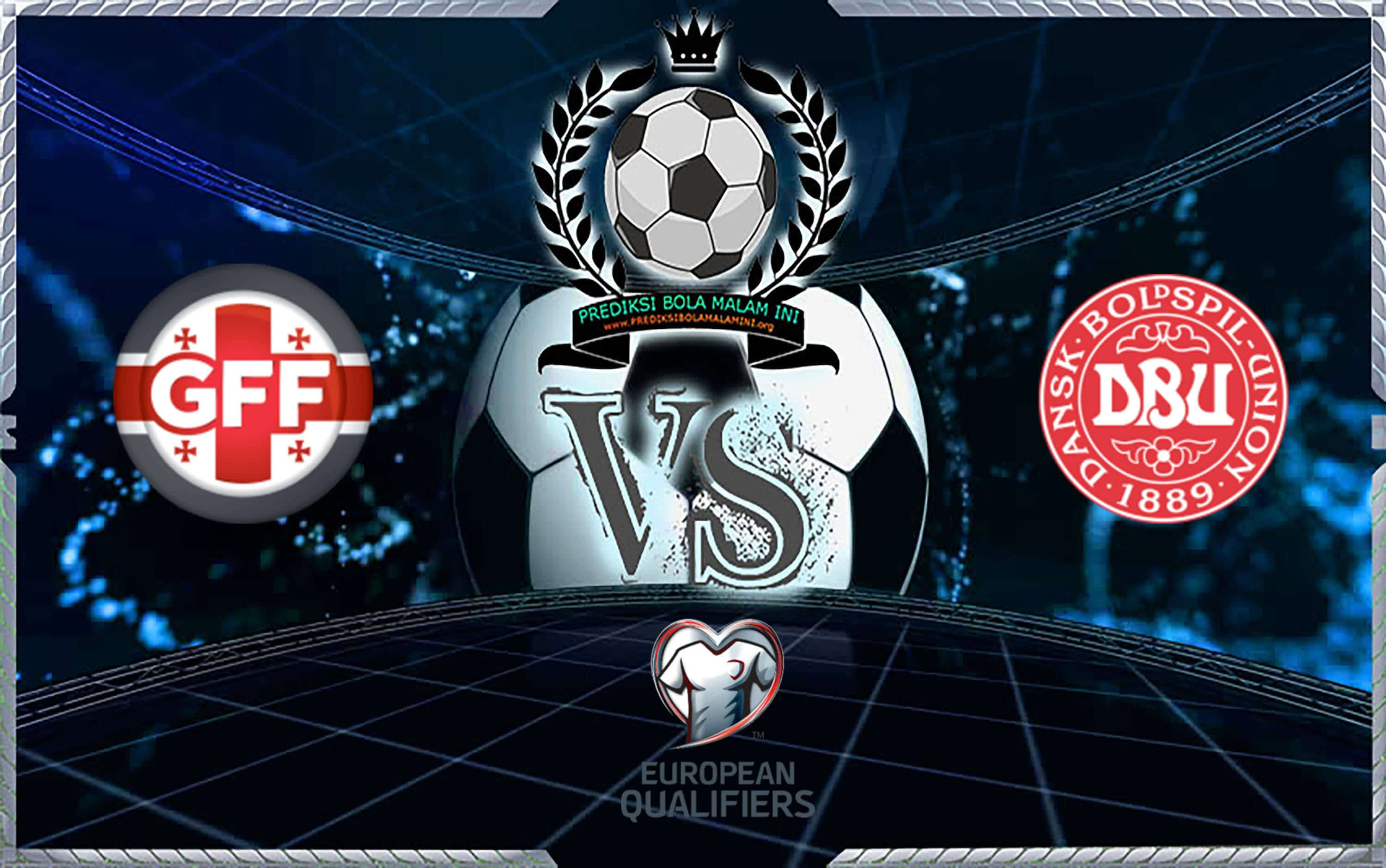 Prediksi Skor Georgia Vs Denmark 8 September 2019