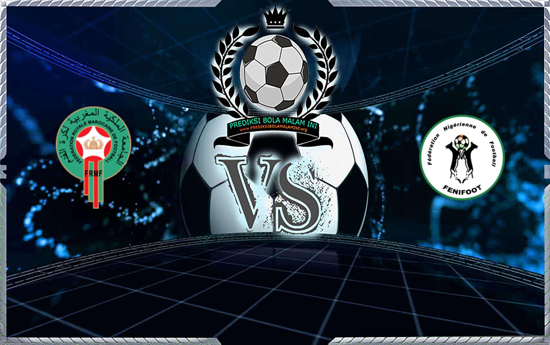 Prediksi Skor Morocco vs Niger 11 September 2019
