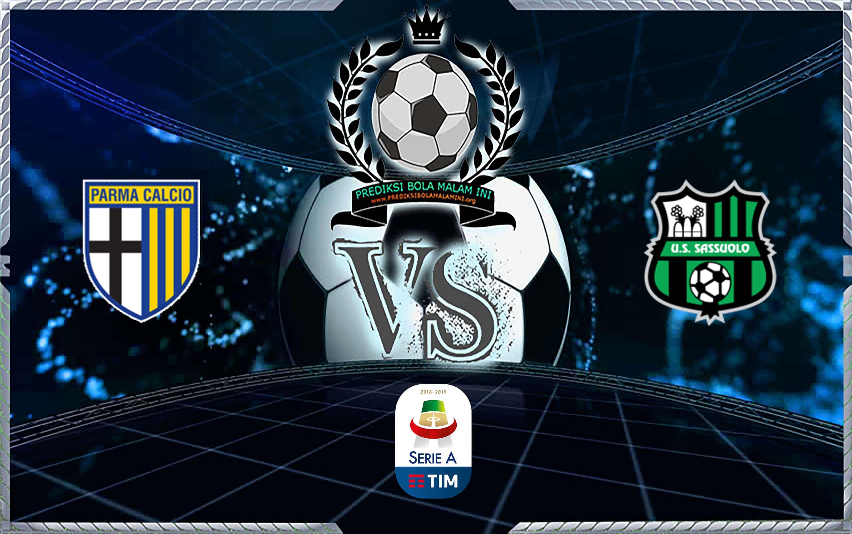 Skor Prediksi Parma Vs Sassuolo 26 September 2019