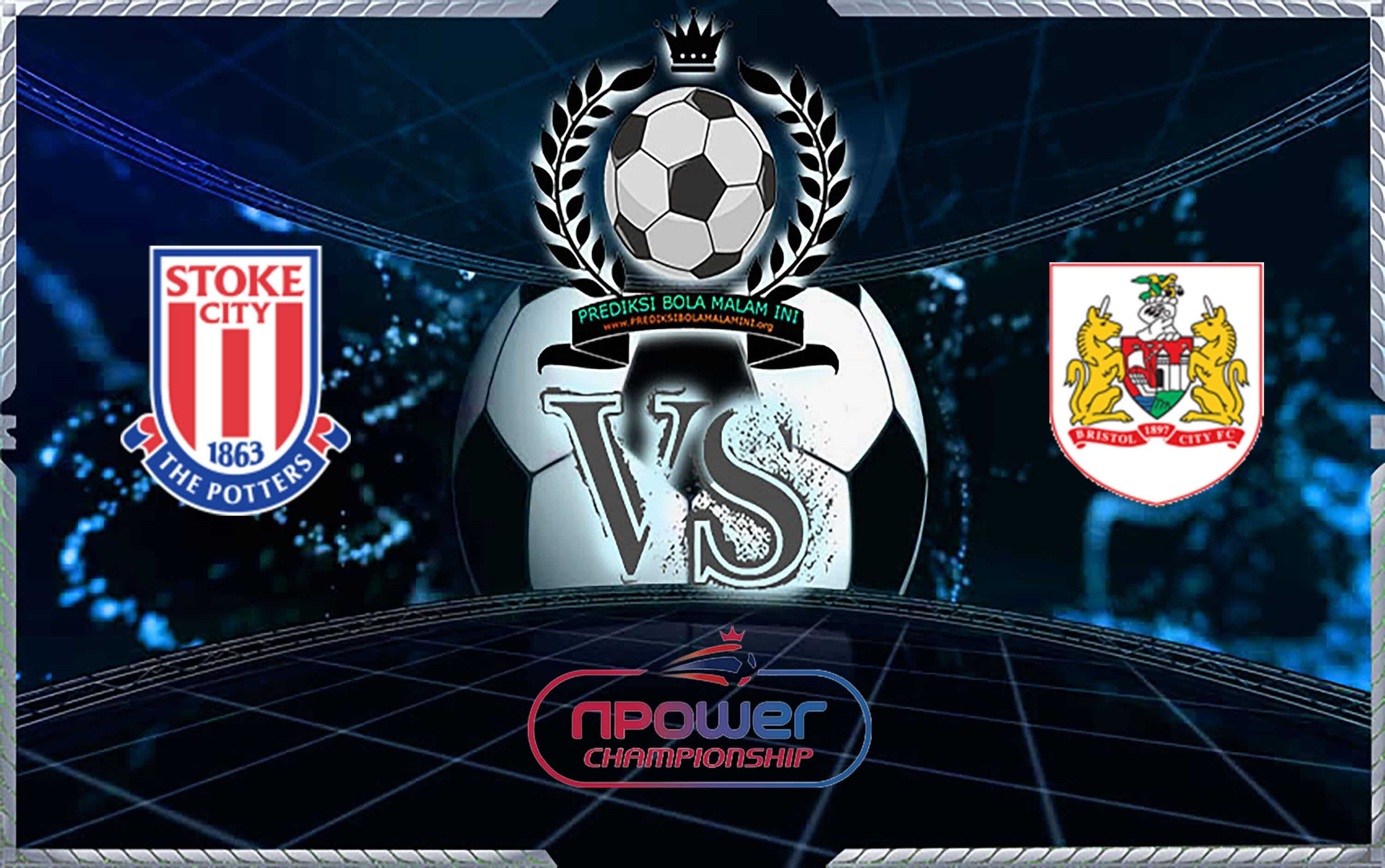 Prediksi Shoes Stoke City vs Bristol City 14 September 2019