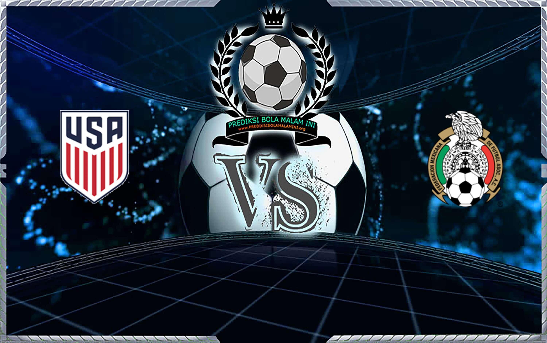 Prediksi Skor Amerika Serikat Vs Mexico 7 September 2019