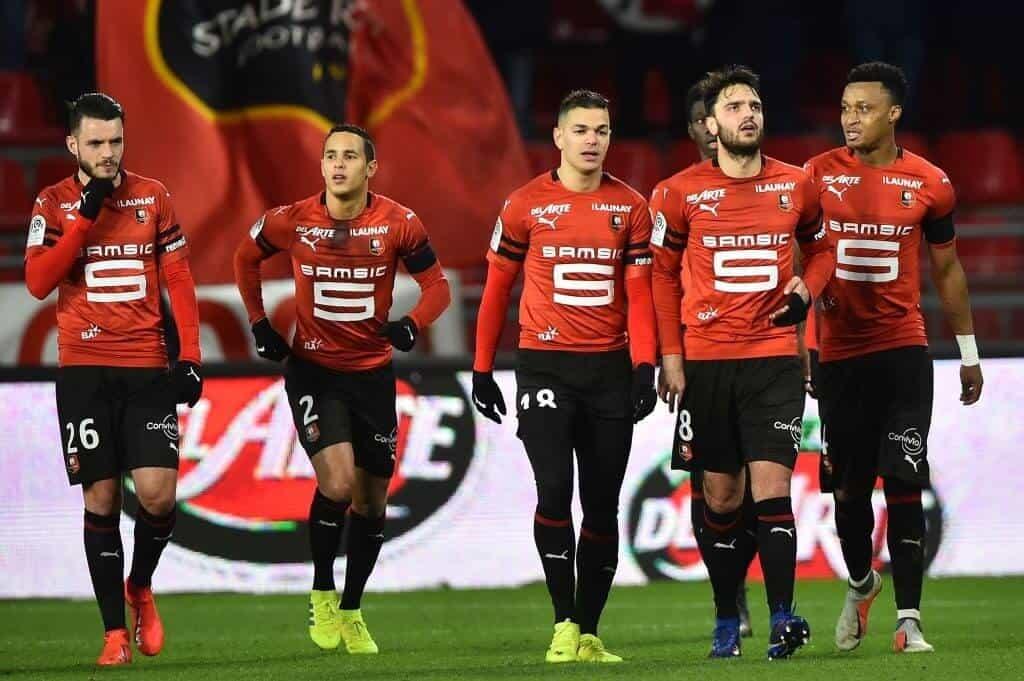 RENNES football team 2019