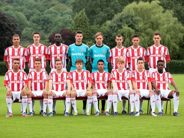 STOKE CITY football team