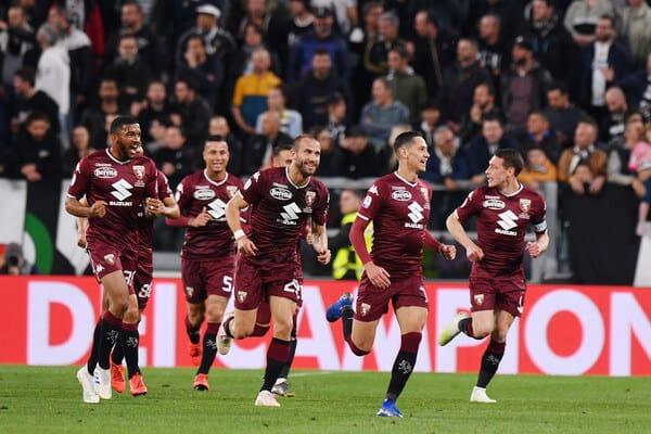 TORINO football team 2019