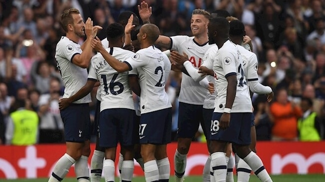 TOTTENHAM HOTSPUR football team 2019