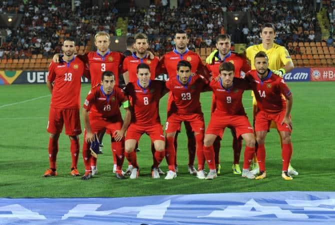 Tim sepak bola nasional ARMENIA 2019