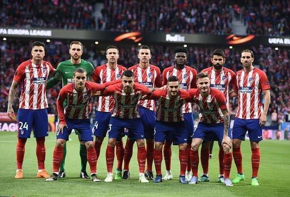 ATLETICO MADRID tim sepak bola 2019
