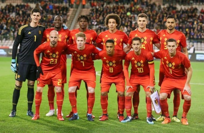 BELGIUM football team 2019