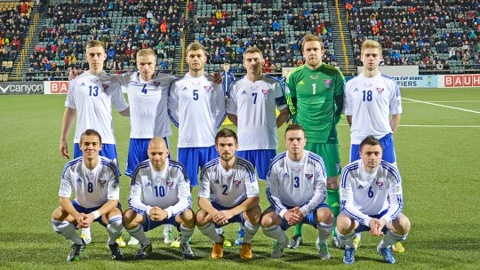 FAROE ISLANDS tim sepak bola nasional 2019
