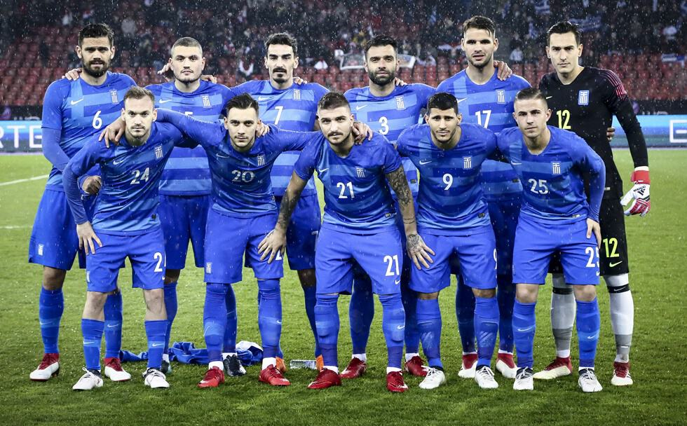YUNANI tim sepak bola nasional 2019
