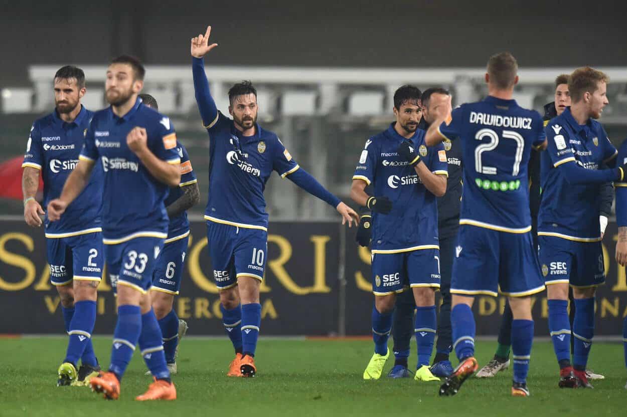 HELLAS VERONA tim sepak bola 2019