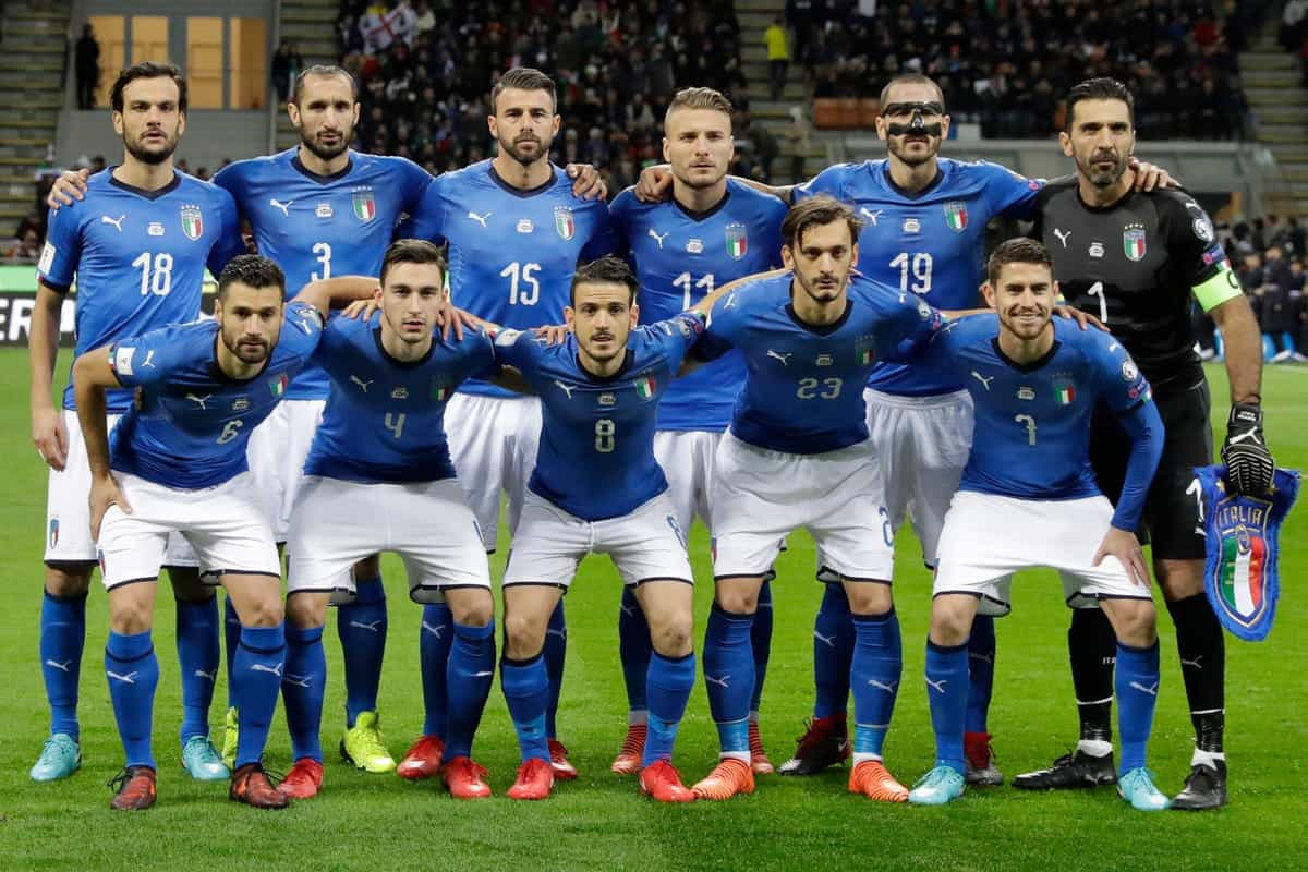 ITALY national football team 2019