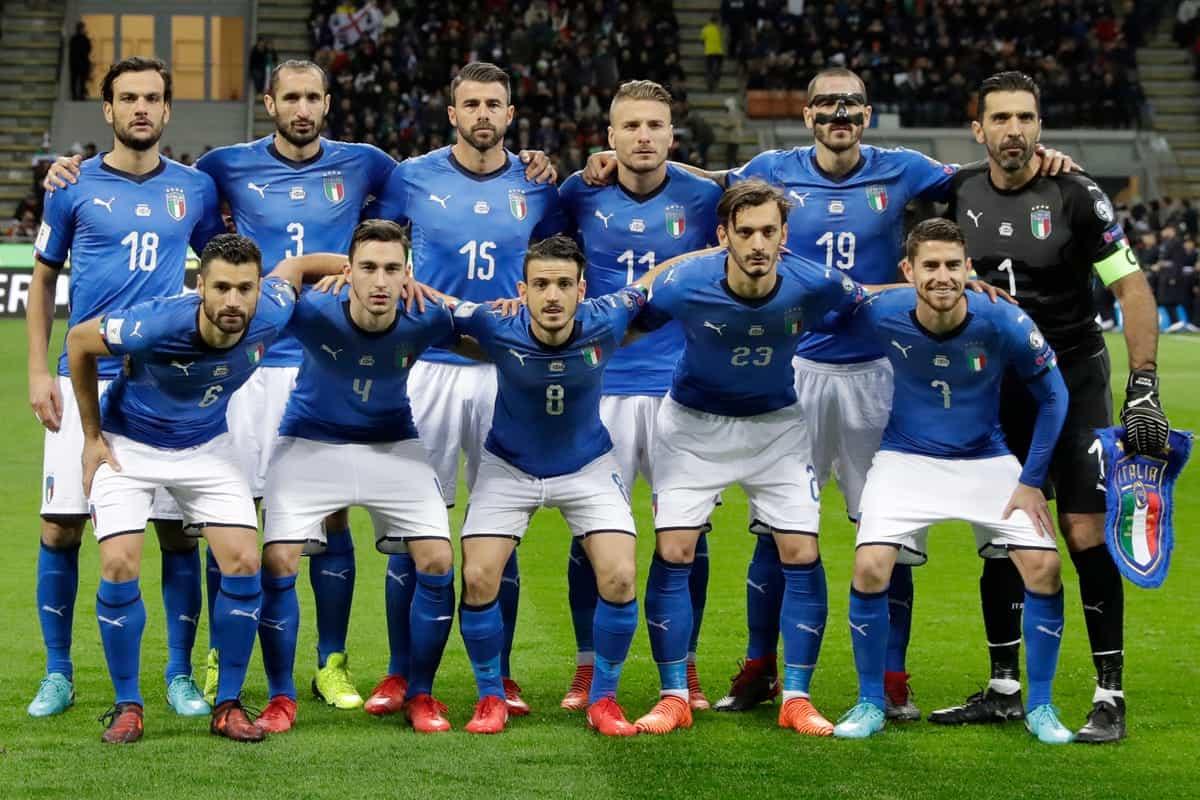 ITALIA tim sepak bola nasional 2019