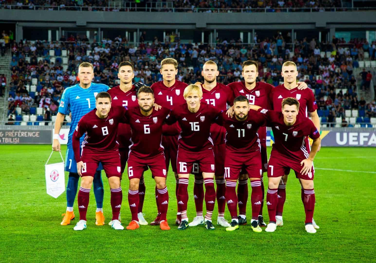 Tim sepak bola LATVIA 2019