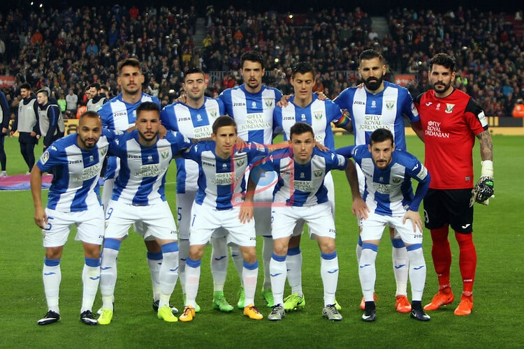 LEGANÉS football team 2019