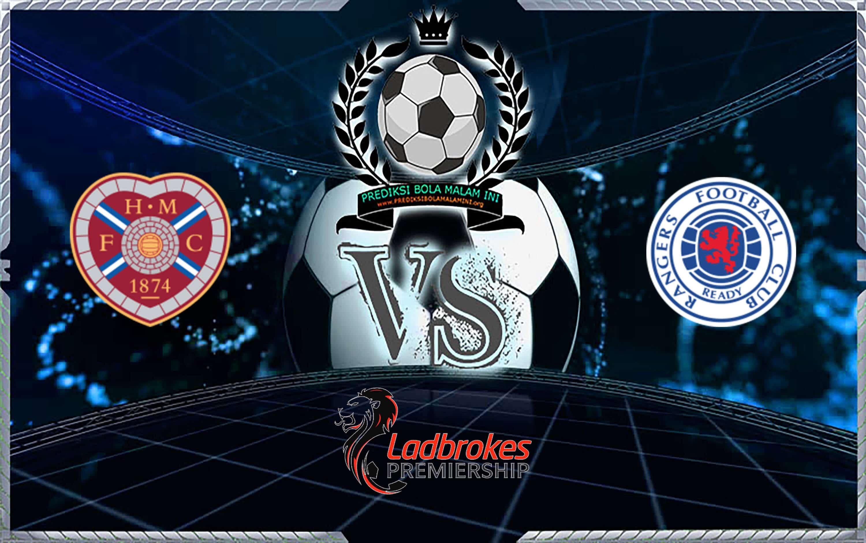 Prediksi Skor Hearts Vs Rangers 20 Oktober 2019