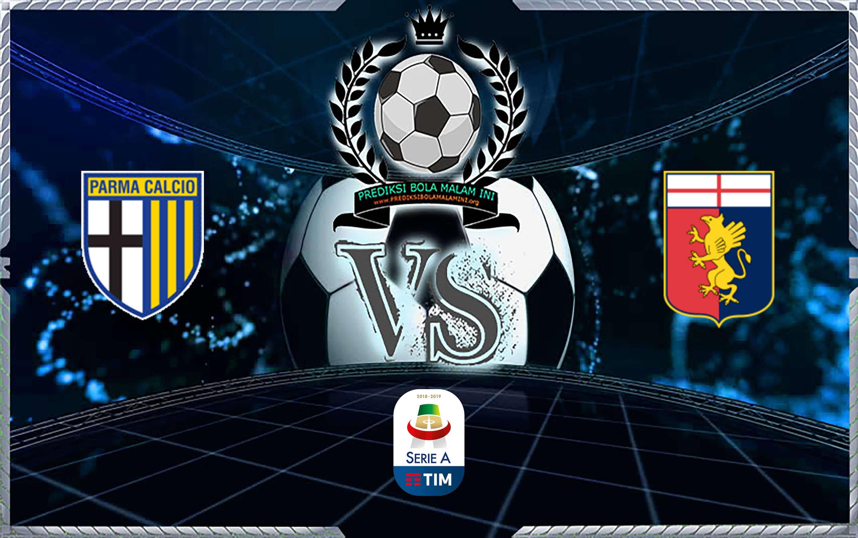 Prediksi Skor Parma Vs Genoa 20 Oktober 2019