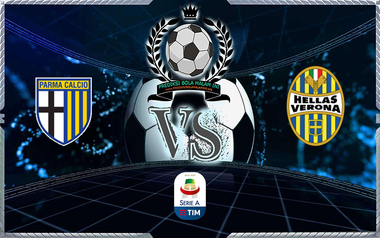 Prediksi Skor Parma Vs Hellas Verona 30 Oktober 2019