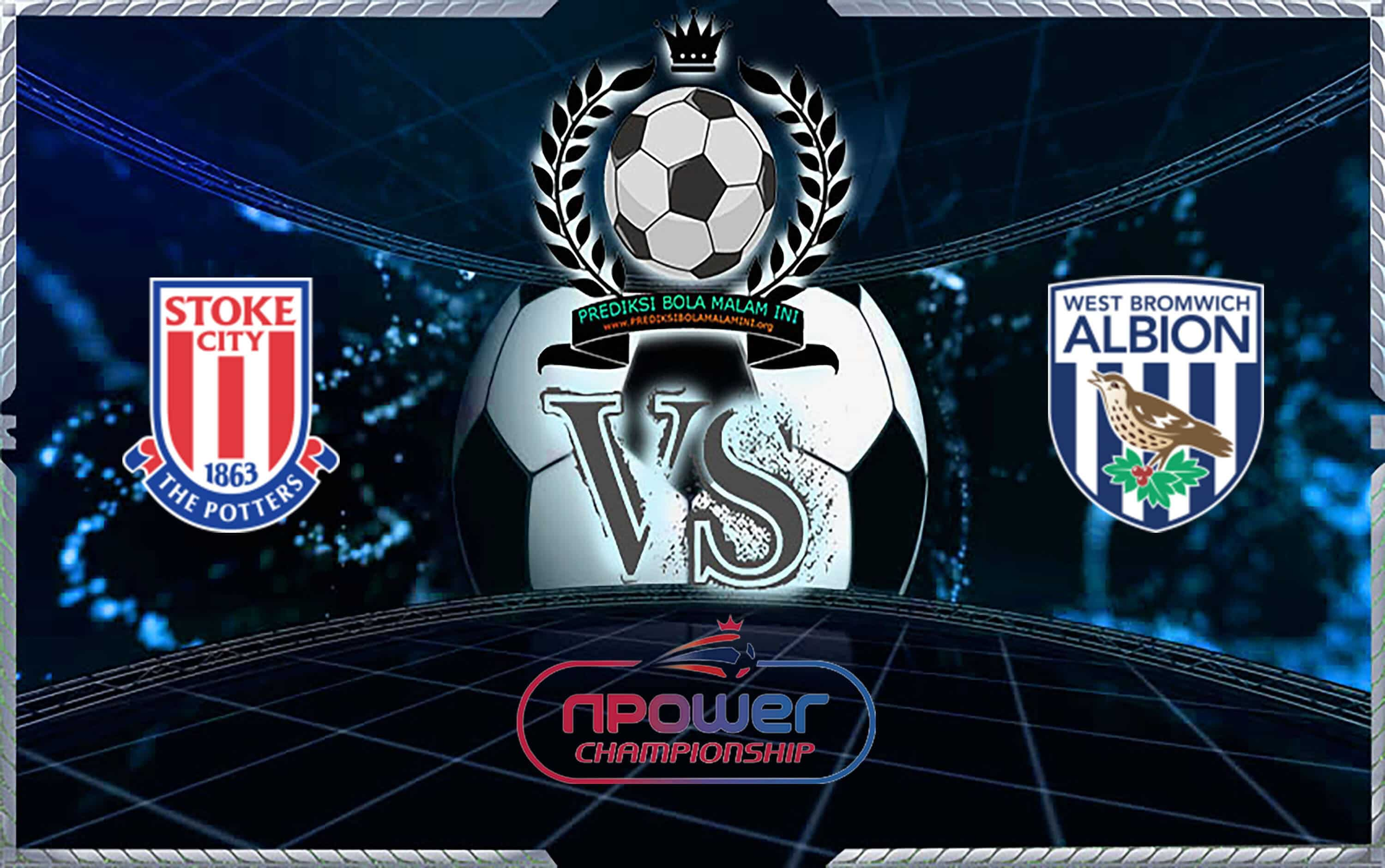 Prediksi Skor Stoke City vs West Bromwich Albion 5 November 2019