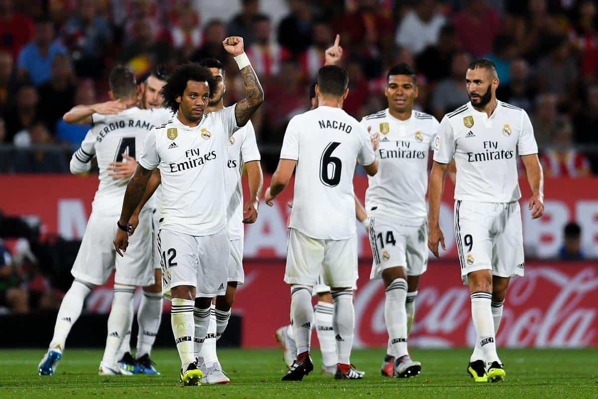 REAL MADRID football team 2019