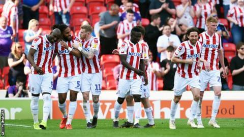 STOKE CITY football team 2019