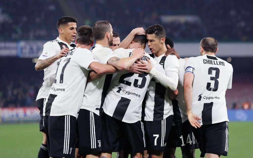 tim sepak bola juventus 2019