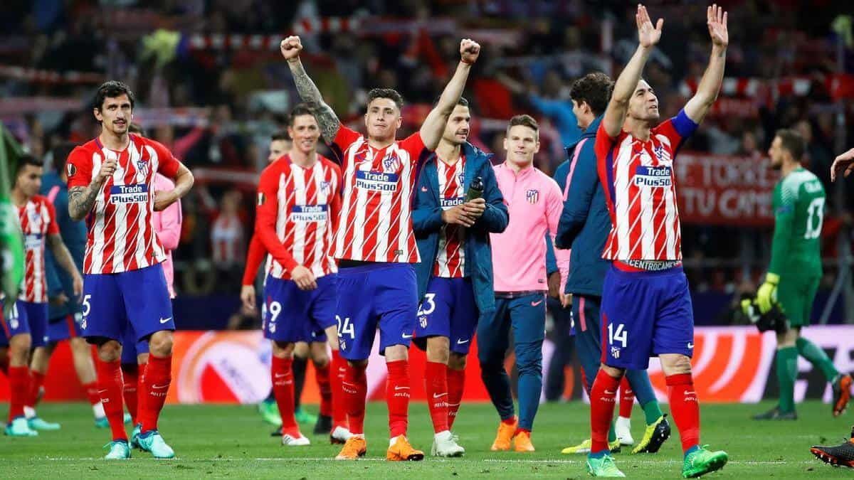 ATLETICO MADRID tim sepak bola 2019