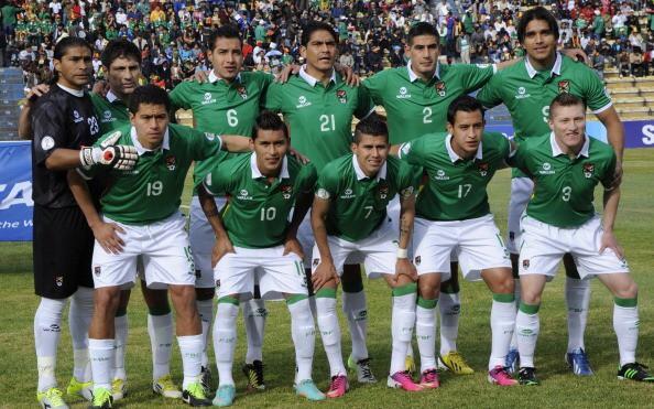 BOLIVIA football team 2019