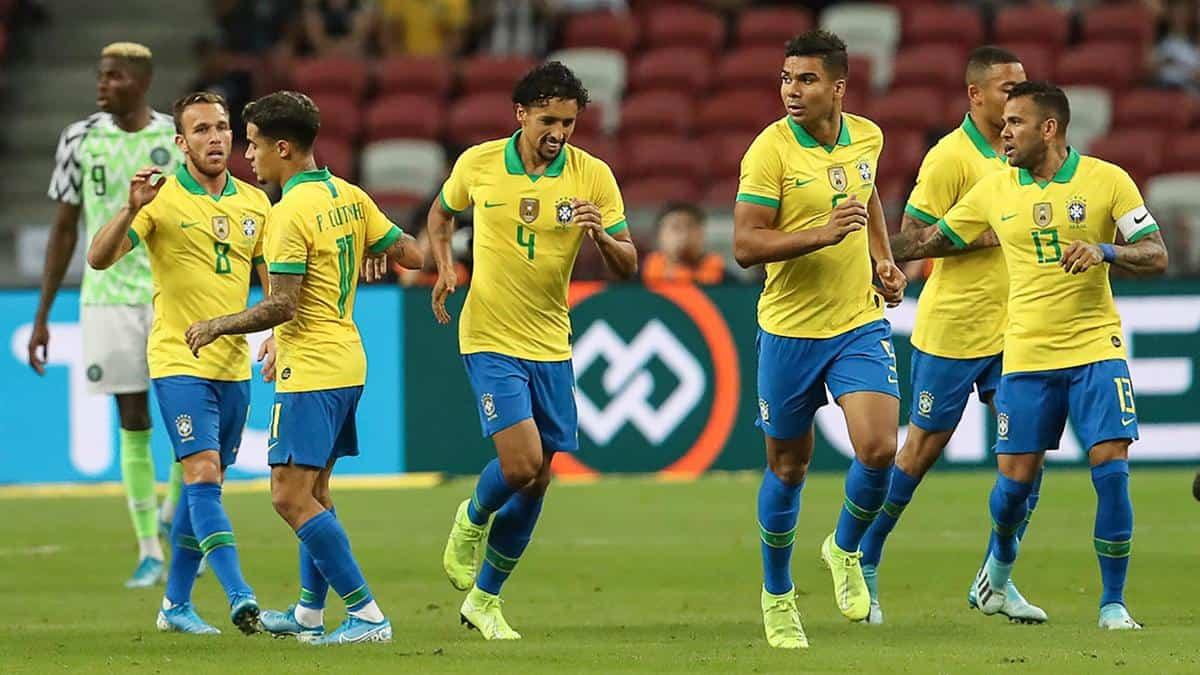 Tim sepak bola BRASIL 2019