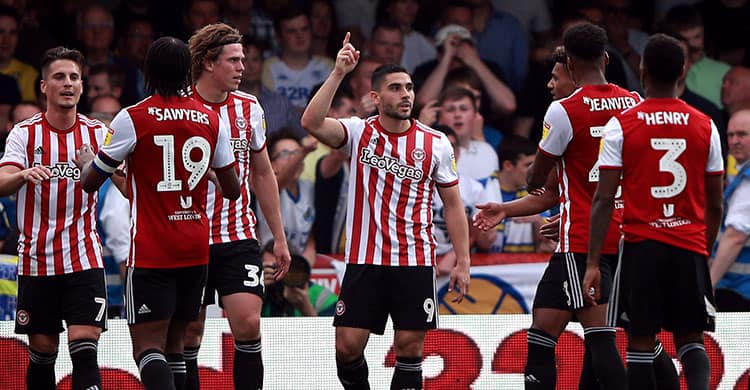 "Tim sepak bola BRENTFORD 2019 ""width ="" 750 ""height ="" 390 ""/> </p> <p> <strong> <span style="