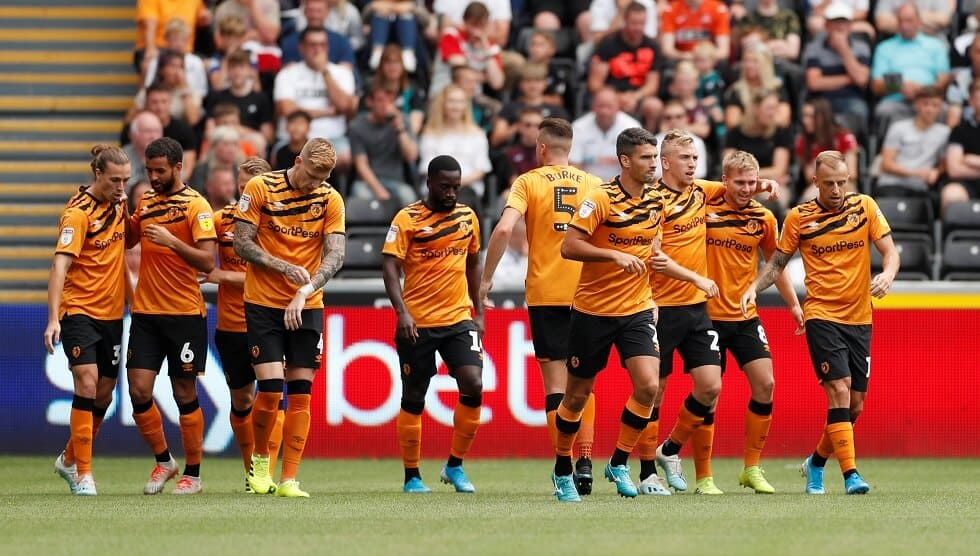 HULL CITY football team 2019