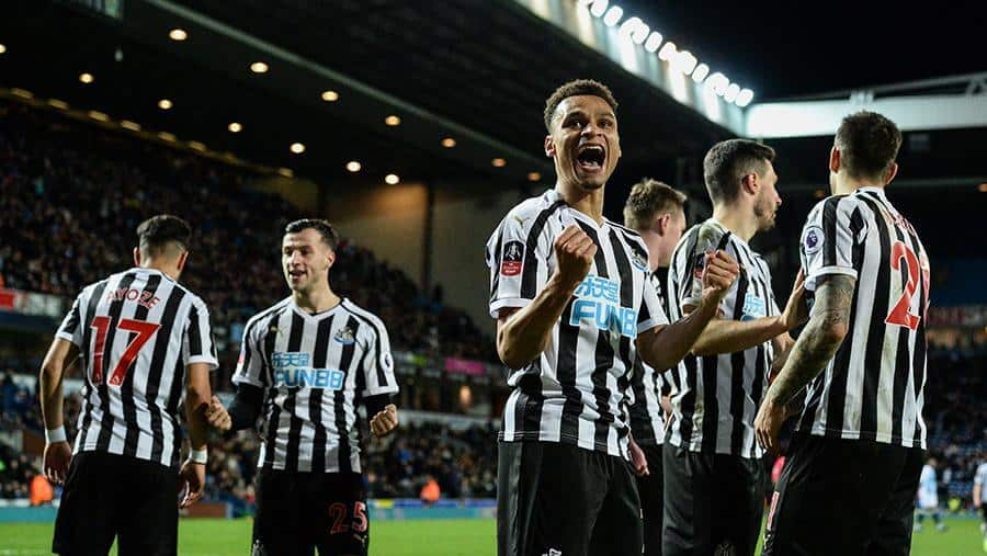 NEWCASTLE UNITED football team 2019