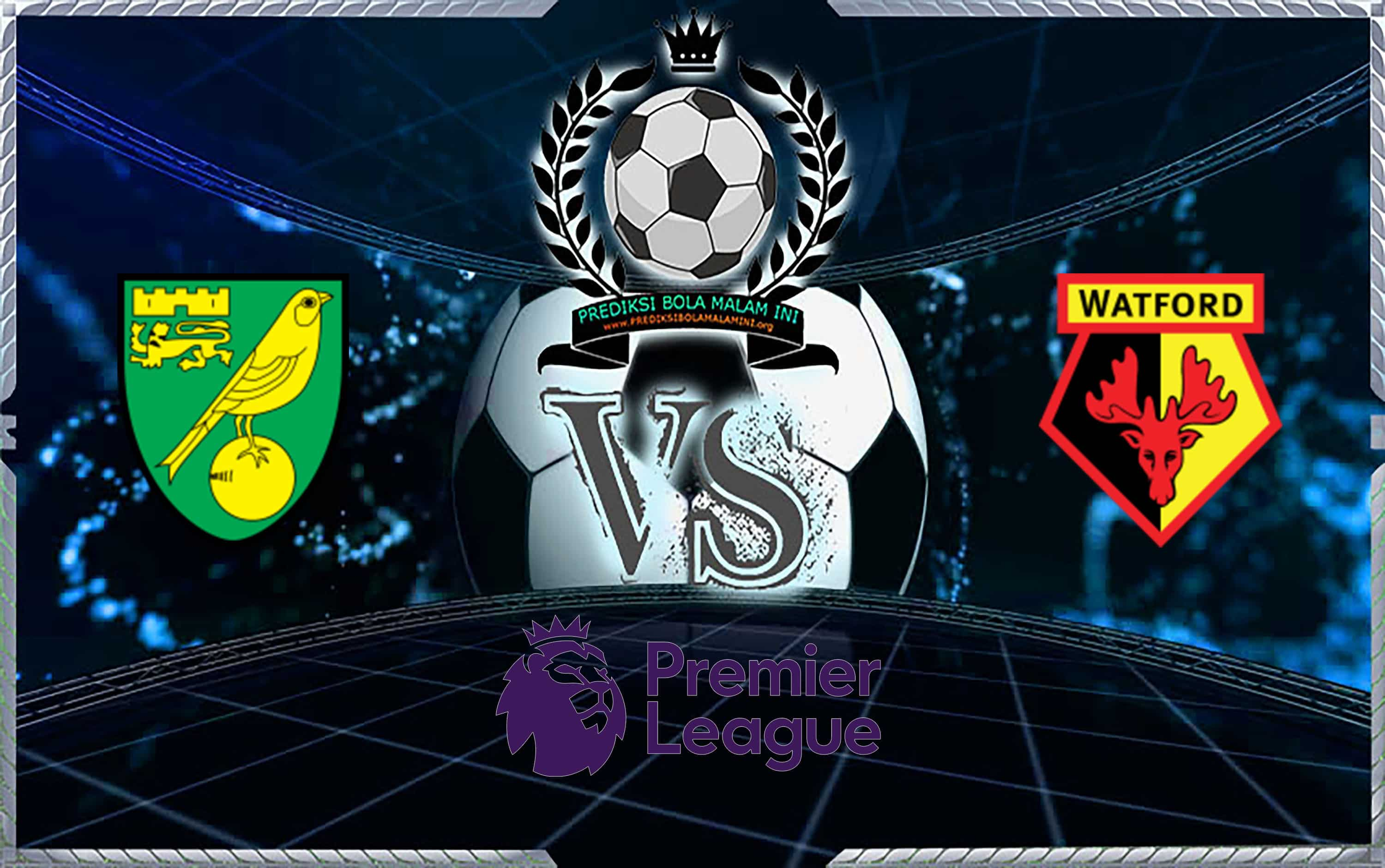 Skor Prediksi Norwich City Vs Watford 9 November 2019