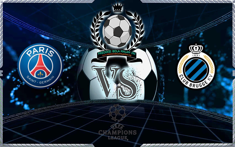 Prediksi Skor PSG Club Vs Brugge 7 November 2019