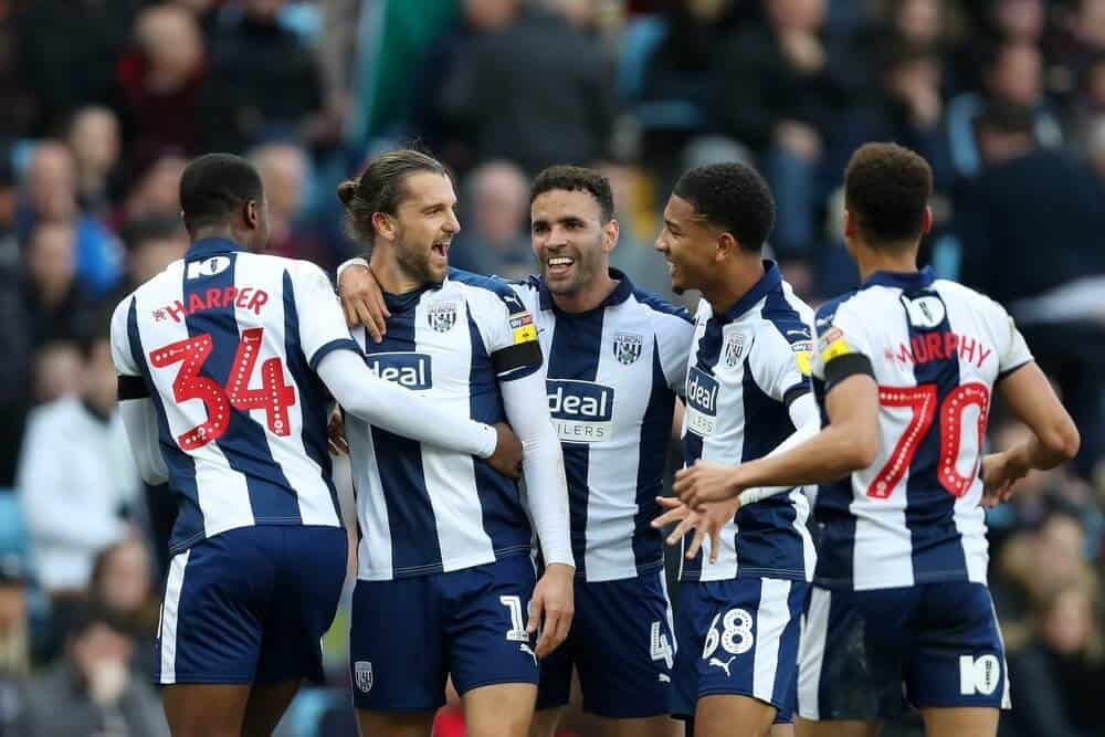 WEST BROMWICH ALBION football team 2019