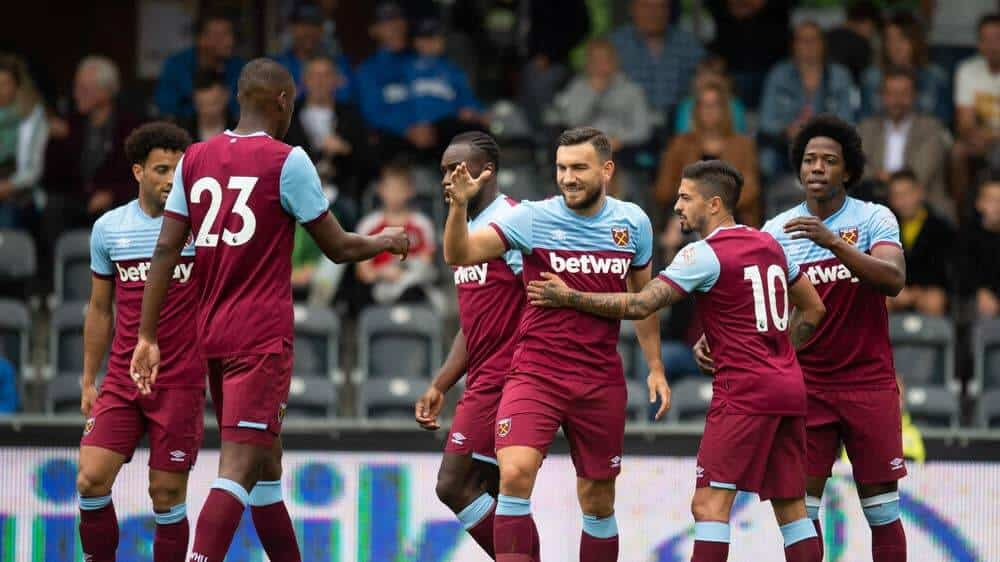 WEST HAM UNITED football team 2019