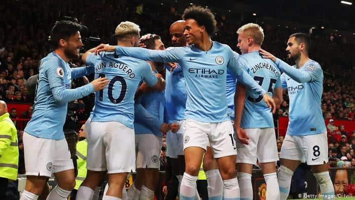 manchester city football team 2019