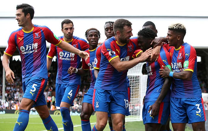 CRYSTAL PALACE football team 2019